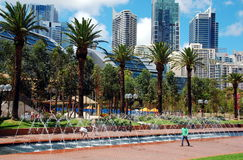 Tumbalong Park, Sydney, Australia Royalty Free Stock Photo