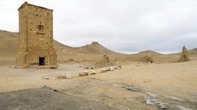 Tumbas de la torre del Palmyra Foto de archivo