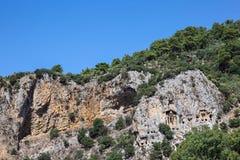 Tumbas de Lycian Imagen de archivo