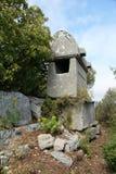 Tumbas de Lycian Fotos de archivo libres de regalías
