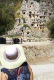 Tumbas de Lycian Imagenes de archivo