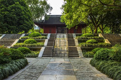 Tumbas de Ming Xiaoling en Nanjing China Imagen de archivo libre de regalías