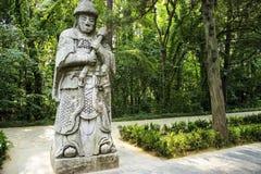 Tumbas de Ming Xiaoling, Nanjing China Imágenes de archivo libres de regalías