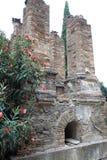 Tumbas de Porta Nocera en Pompeya, Italia Foto de archivo