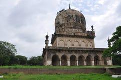 Tumbas de Qutb Shahi en Hyderabad Fotos de archivo libres de regalías