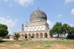Tumbas de Qutub Shahi foto de archivo libre de regalías