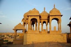 Tumbas de Rajput, Rajasthán Fotografía de archivo libre de regalías