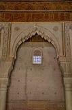 Tumbas de Saadian en Marrakesh Imagen de archivo