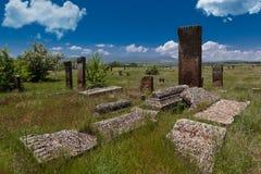 Tumbas del estado histórico de Seljuk fotos de archivo libres de regalías