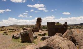 Tumbas 3 del inca Imágenes de archivo libres de regalías