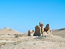Tumbas del Palmyra foto de archivo