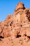 Tumbas del Petra Fotografía de archivo