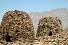 Tumbas Omán de la colmena Imagen de archivo