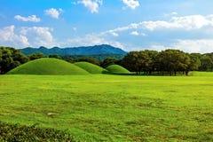 Tumbas reales de la colina Imagen de archivo libre de regalías