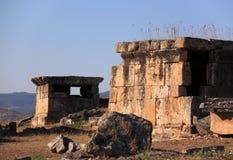 Tumbas romanas antiguas Foto de archivo libre de regalías