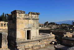 Tumbas romanas antiguas foto de archivo