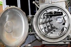 Tumble dryer machine. In industrial Stock Photo