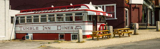 Tumble Inn Diner - Wide View Stock Photos
