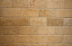 Tumbled Marble Bricks. A background of tumbled marble in a brick pattern Stock Photography