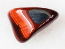 Tumbled Ox S Eye Gemstone On White Royalty Free Stock Photos