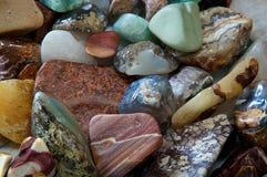 Tumbled rocks detail Royalty Free Stock Images