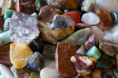 Tumbled stones detail Royalty Free Stock Photography