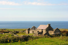 Tumbledown. Ruined house in Fanad, Co. Donegal, Ireland Royalty Free Stock Images