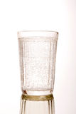 tumbler граненого стекла стоковая фотография rf