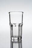 Tumbler, cocktail glass on gradient background Royalty Free Stock Photography