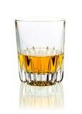 Tumbler of whisky or brandy royalty free stock photos