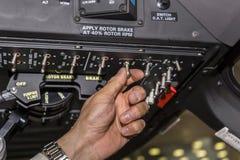 Tumblers переключения пилотом Стоковое фото RF