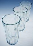 Tumblers de vidro Fotografia de Stock