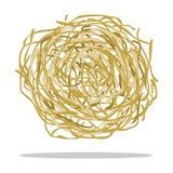 Tumbleweed ikony kreskówka Upala zachodnią ikonę od dzikiego zachodu setu Zdjęcia Stock