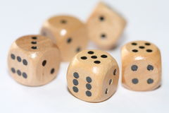 Tumbling dice Royalty Free Stock Photography