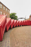 Tumbling phone boxes, Old London road Stock Image