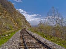 The Tumbling of railway Royalty Free Stock Photos