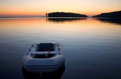 tumbo för soluppgång för öpassagerev Arkivbild