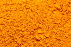 Tumeric Background. Tumeric spice filling the frame Royalty Free Stock Images