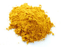 Tumeric Powder Heap Royalty Free Stock Photos