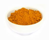 Tumeric powder . Stock Photo