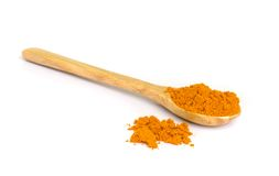 Tumeric   powder. Royalty Free Stock Images