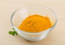 Tumeric powder Stock Images