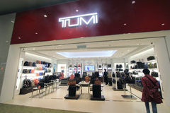 Tumi shop in Kuala Lumpur International Airport Royalty Free Stock Images