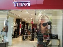 Tumi store Royalty Free Stock Photo