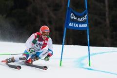TUMLER Thomas (SUI). Alta Badia, ITALY 22 December 2013. DE TUMLER Thomas (SUI) competing in the Audi FIS Alpine Skiing World Cup MEN'S GIANT SLALOM Stock Image