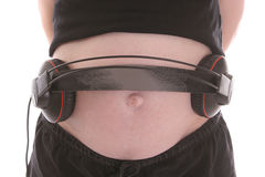 Tummy Music Stock Photography