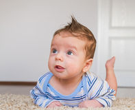 Tummy time Stock Images