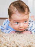 Tummy time Stock Photo