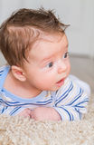 Tummy time Stock Photography