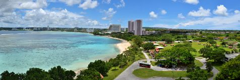 Tumon Bay, Guam Royalty Free Stock Image
